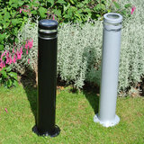 Buitenlampen staand 220v zwart 65 cm