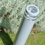Led buitenlamp zilver 220v