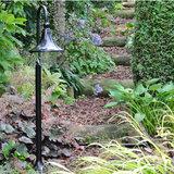 Tuinlantaarn zwart buiten