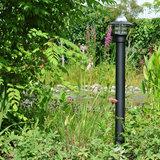Tuinverlichting led staand zwart buitenlamp
