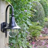 Led wandlamp zwart