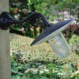 Buiten wandlamp zwart