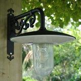 Stallamp zwart 220v led buiten wandlamp