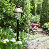 Buitenlamp zwart koper terras 230v