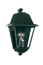 Venezia wandlamp plat, groen