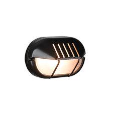 Bulleye buiten wandlamp zwart 1531