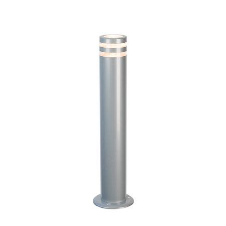 Design buitenlamp staand 230v zilver