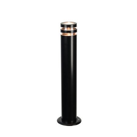 Design buitenlamp staand zwart Melbourne 65 cm 230v
