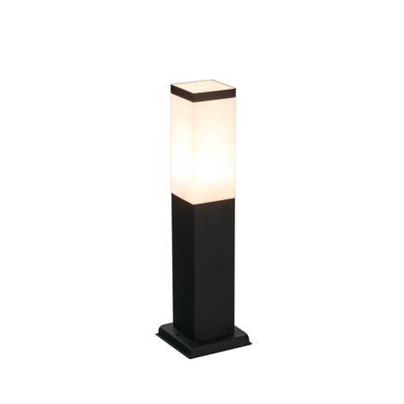 LED Tuinverlichting 230v zwart staand buitenlamp