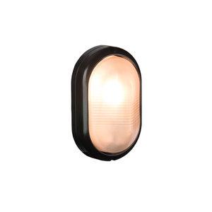 Bulleye led buitenlamp zwart 230v