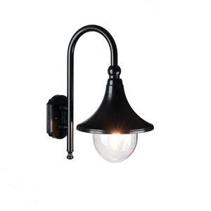 Buiten wandlamp zwart hang