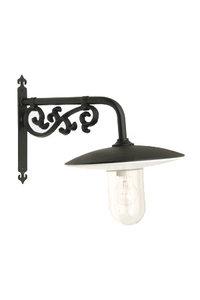 Zwarte led stallamp voor buiten