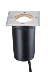 LED grondspot vierkant 230v inbouw